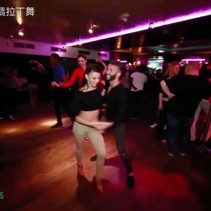 #油管搬运工#Reda dance y Lara salsa social dance @salsa O'sulli#杭州fiesta##杭州salsa#