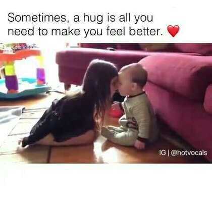 许多时候,我们其实只是需要一个拥抱❤