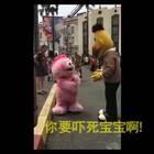 一个被台阶针对了的小短腿…… 心疼!😂😂😂#搞笑#