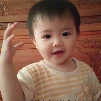 #宝宝##萌宝宝##搞笑宝宝#麻麻感冒好多天,都没帮小虾米拍视频,今天来一场搞怪的😜