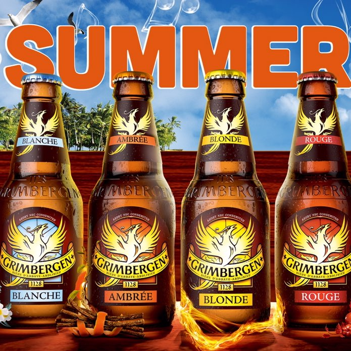 [干杯][干杯]格林堡 比利时修道院啤酒[干杯][干杯] GrimBergen是比利时布鲁塞尔北方的一个乡村1128年当地的庄园主修建了一个修道院 他们以热情好客和自家酿造的啤酒而闻名 HOOTERS将这个热情好客的氛围延续下去 特地推出精选啤酒 夏日惊喜价65元/瓶 还能在HOOTERS一起助威利物浦!
