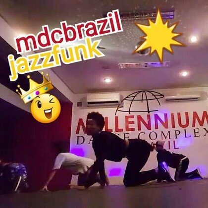 Jazz funk dance class at Millennium Dance Complex Brazil choreography by @ruan_patricio #jazzfunk #energy #mdcbrazil #sexy #dance #class #brazil #vpimy