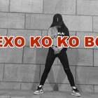 #exo-ko ko bop##舞蹈#😂老了老了,脚站不稳了,后面动作,因为现学的,所以记不住。