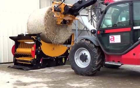 【科技原理美拍】德国人是这样给牛喂草的,这就是...