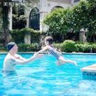 😊Happy weekend!#宝宝爱游泳#