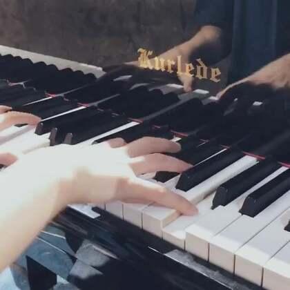 和老朱得无NG合作#音乐##钢琴#