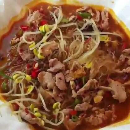 水煮肉片 是用猪里脊肉做的 挺嫩的 好吃😉#美食##水煮肉片##美食作业#@全娜拉 http://www.meipai.com/media/824711787