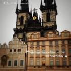 难得一见的雨中布拉格广场🌧️#旅游#