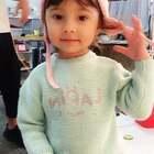 #混血宝宝##中德混血小萝莉##混血儿果冻#😁😁😁上次拍摄maxwin吃吃吃的果冻