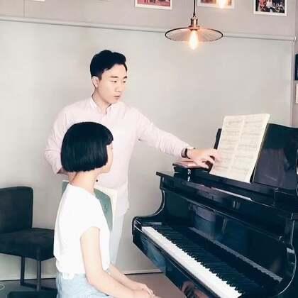 上课实况:肖邦练习曲op.25no.2 (2)