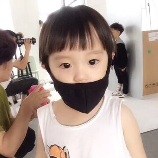 扮酷#宝宝##萌宝宝#