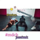 Jazz funk dance class at #mdc Brazil with the hotties Gustavo and Jessica #女神##sexy##自拍#