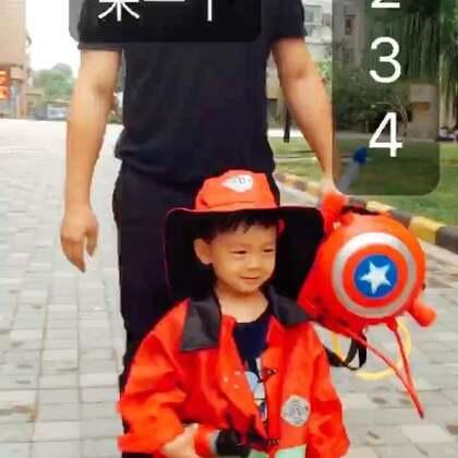 消防队长带队,谁笑场谁做俯卧撑😂#丢36个月#