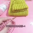 双元宝针围巾教程-4#手工#