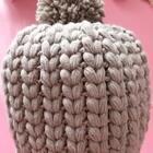 枣型针帽子教程-5#手工##老年帽##秋冬钩针毛线帽#