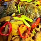 烤鱼自己做的也还不错😉#美食##食面八方##浪漫七夕私房菜#http://www.meipai.com/media/839146117 @全娜拉