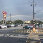 好大的雙層彩虹!