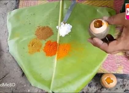 你吃过烧烤,那你吃过烤鸡蛋么?印度烤鸡蛋,现已加入豪华午餐.