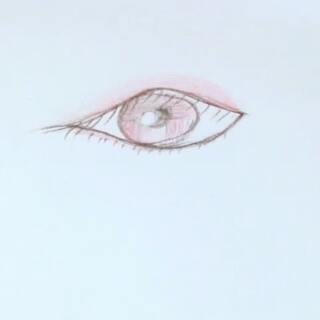 眼睛の楚楚可怜 教掣6 #00后绘画大赛##彩铅眼睛教程##爱上彩铅
