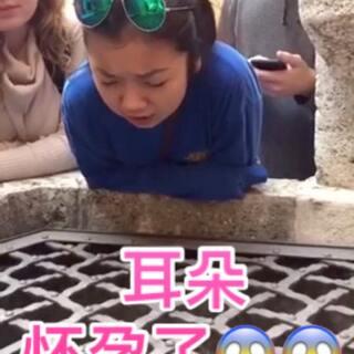 #涨姿势#美国小姑娘Tiffany Day在意大利旅游的时候发现一口回声良好的井 于是在井边唱了一段《哈利路亚》