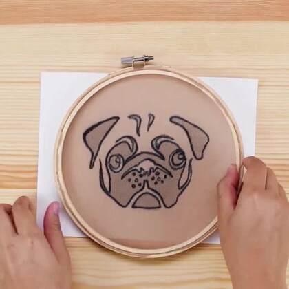 谁说缝纫圈只能用来织衣服?学会这四个缝纫圈的hack,看机智君带你用缝纫圈做艺术,DIY收纳盒,甚至做墙架!#机智日记##手工##我要上热门#