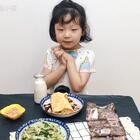 #开学季早餐表#开学了,宝贝们都在吃些啥?今天给宝贝做的【虾皮鸡蛋卷饼】营养,美味,还补钙哟👍👍