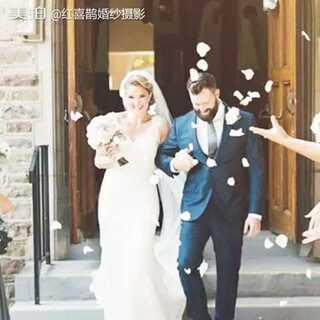 #结婚#今天是我们的大日子,全世界都为我们撒花庆祝🌸🌸🌸#反手点赞##婚纱摄影#