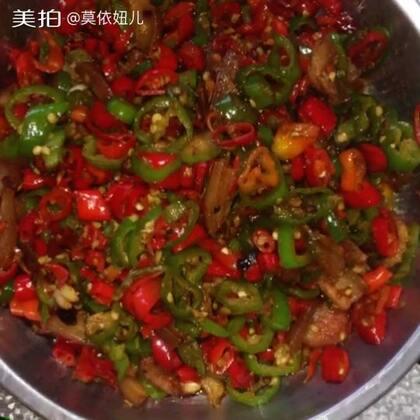 #美食#火爆双椒,嘴也辣手也辣,超级下饭,一般人受不了这个。🙈🙈😂😂😂😁😁😂