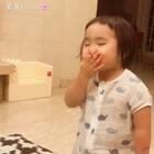 """good night mommy""#可爱吃货小萌妞##吃货小蛮##小蛮两岁八个月#"