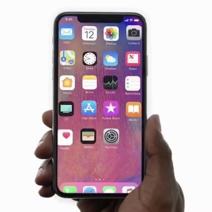 Apple官方iPhone X 快闪介绍[英文]。#2017苹果新品发布会#