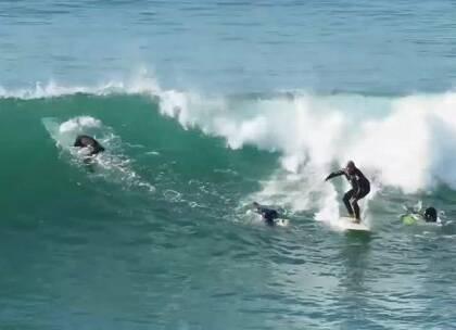 专业冲浪者们的天堂#运动#