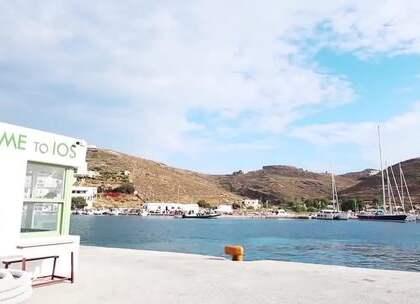 美女到希腊来度假#美女##旅游#