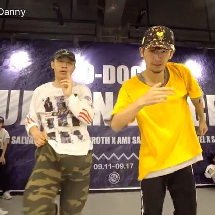 in长沙 O-DOG Camp!好久没发#舞蹈#啦!期待最近的更新吧#孟祥鹏danny##小孟#