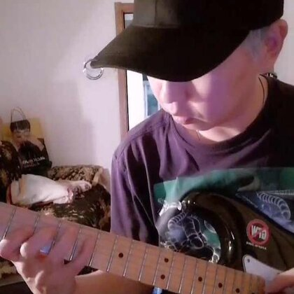 和声小调属和弦的减七琶音替代 #音乐##吉他##琶音#