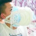 带上了一百个口罩我还能不能正常呼吸!带上之后那样子我笑了#作死##奇葩##我要上热门@美拍小助手#