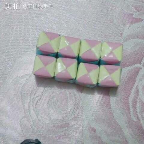 #手工##折纸##手工折纸#无限魔方@小怪兽Lu
