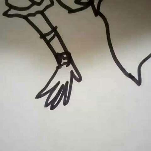 了一个月兔女孩 咪咪绘画教程 我画的很丑,别介意 叶罗丽城堡的美拍