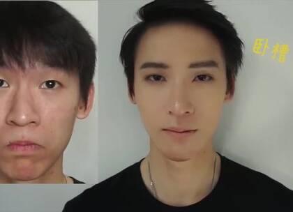 泰国男屌丝画了一个韩妆秒变宋仲基+韩东君合体!化妆的力量真的太强大了.....#小红唇TV#