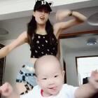 #舞蹈##宝宝# 舞蹈从小培养起来😂😂