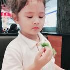 momo两岁后特别挑食了,几乎不吃任何绿色的蔬菜和水果。上学以后,班里的同学带的点心盒有蔬果,偶尔会分享给她,她就慢慢开始吃了。前段时间天天让我做西兰花给她吃,今天居然主动要吃生菜了😜#momo家的日常#