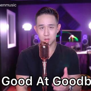 """今天挑战 Sam Smith 的新歌!希望桐学们喜欢节省钱版的 """"Too Good At Goodbyes""""! 😊#jasonchen##节省钱#"""
