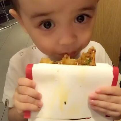#宝宝#好好吃的烧饼