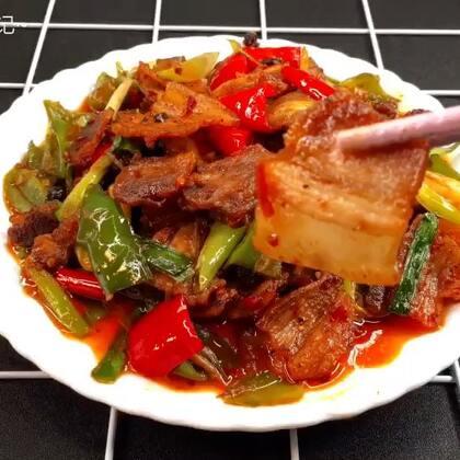 回锅肉做法,最爱的家常菜没有之一😋#美食##回锅肉##菌菇家常做法#