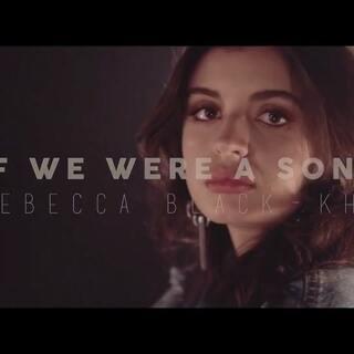 #晚安翻唱#你吸引我又故意冷漠我,让我伤透了心。(歌曲:If we were a song-原唱制作:Rebecca Black & KHS)#音乐##热门#