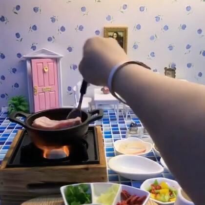 #迷你厨房# 来吃块排骨吧 一块就好。。
