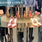 Jimmy Choo 2018春夏系列,松石绿色穿在脚上一定很显白~