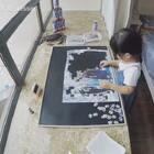 #宝宝#👧3岁8个月解锁500片拼图,这幅冰雪奇缘图案不算简单,用时3小时15分~不用对照图,必须是盲拼盲拼盲拼才能这么快🤔 #宝宝拼图#