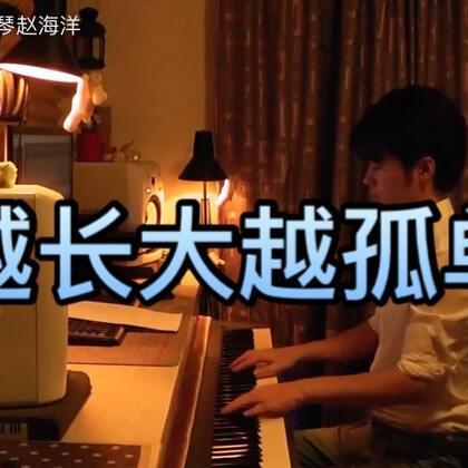 (越长大越孤单)夜色钢琴曲 赵海洋演奏版、微博:夜色钢琴赵海洋#钢琴曲#