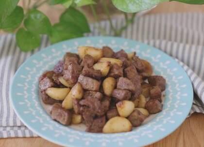 这道菜做了好几次,越做越顺手,味道也更好吃,只要把牛肉处理好,成功率极高😊#美食##家常菜##喵食语#