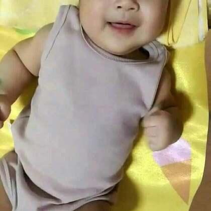 #宝宝##木木孵化记#作为男孩子,笑得这么甜真的好吗。。。